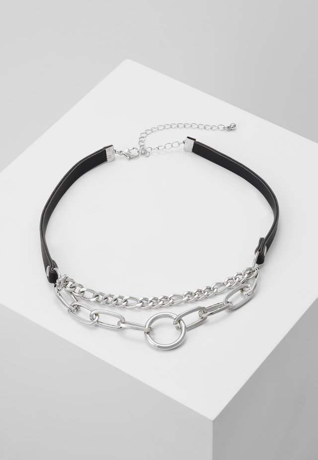 MIXED CHAIN - Halsband - silver-coloured