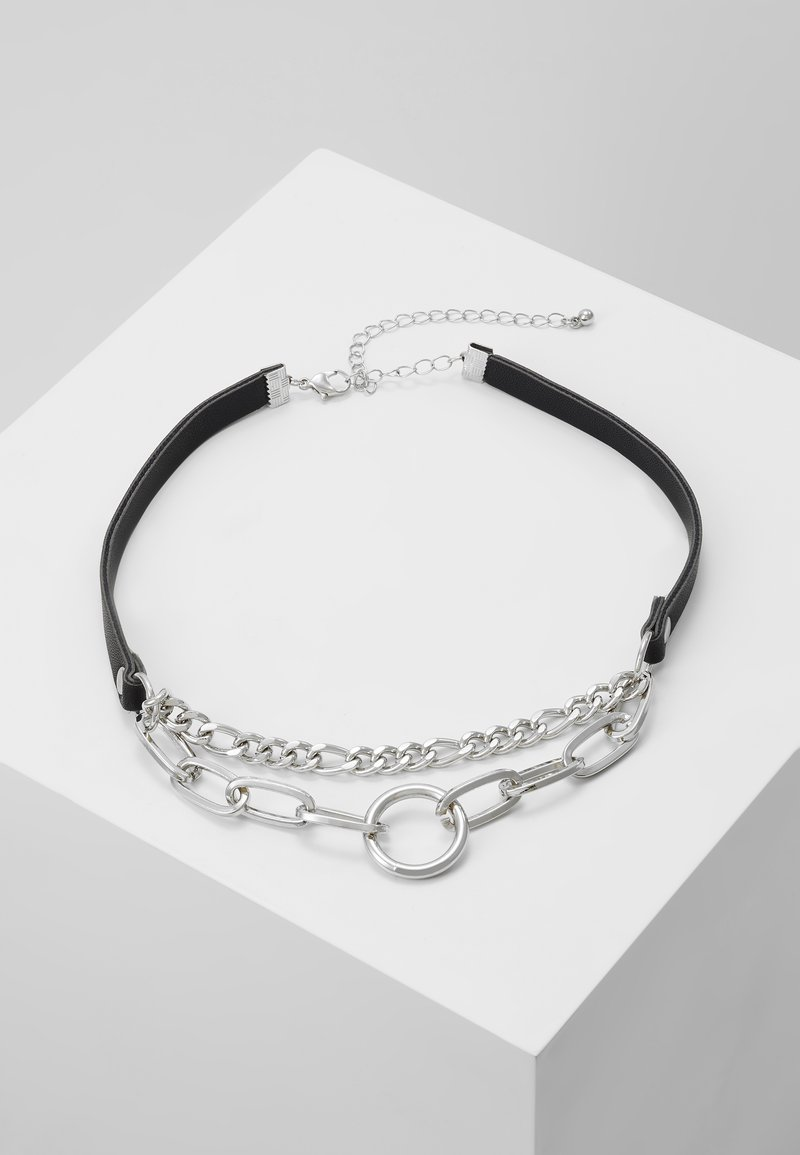Uncommon Souls - MIXED CHAIN - Necklace - silver-coloured