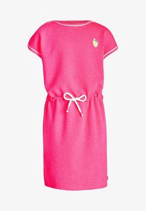 Jersey dress - bright pink