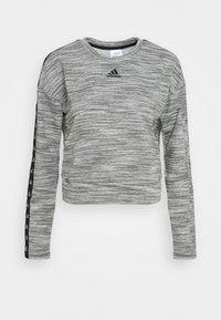 Sweater - medium grey heather/black