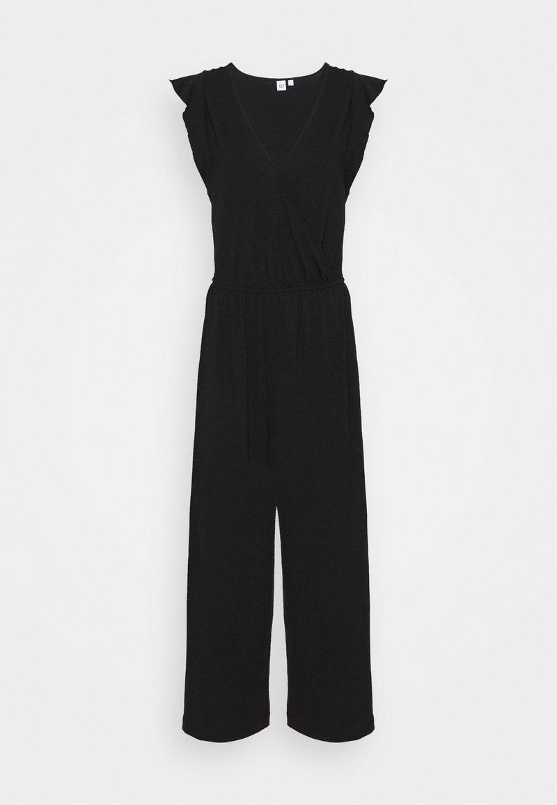 GAP - WRAP - Jumpsuit - true black