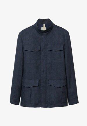 Lehká bunda - bleu indigo