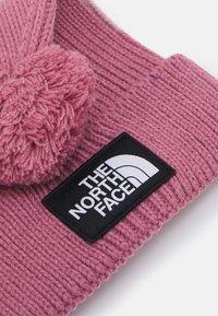 The North Face - LOGO BOX POM BEANIE UNISEX - Beanie - mesa rose - 2