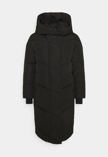 NMTALLY LONG JACKET  - Winter coat - black