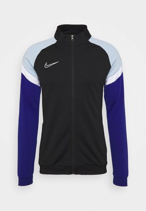 DRY ACADEMY - Training jacket - black/deep royal blue/white