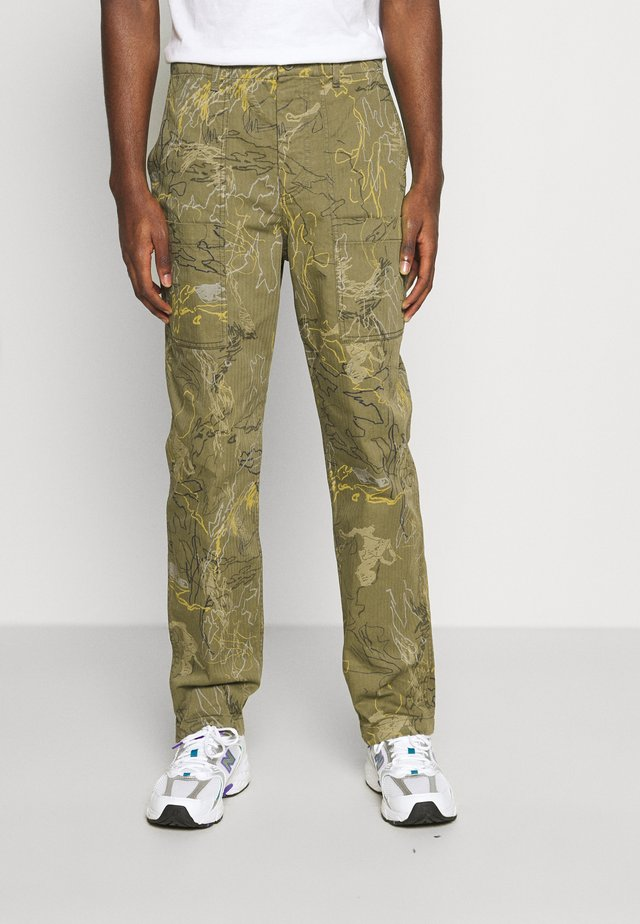 HALVARD TROUSERS - Pantaloni - green