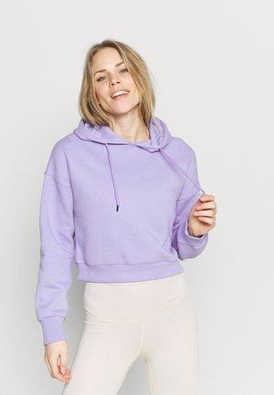 CROPPED HOODIE - Mikina - lavender