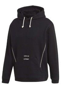 adidas Originals - HOODIE - Hoodie - black - 8