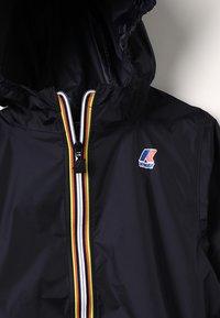 K-Way - LE VRAI CLAUDE - Waterproof jacket - black - 5