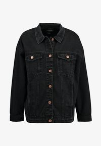 CATHY JACKET - Denim jacket - black