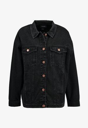 CATHY JACKET - Jeansjakke - black