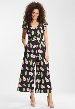 THELMA CACTUS MELON - Overall / Jumpsuit /Buksedragter - black