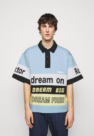DREAM ON - Polo shirt - light blue
