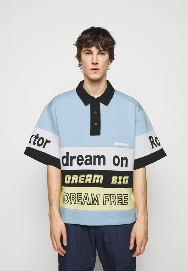 DREAM ON - Poloshirt - light blue