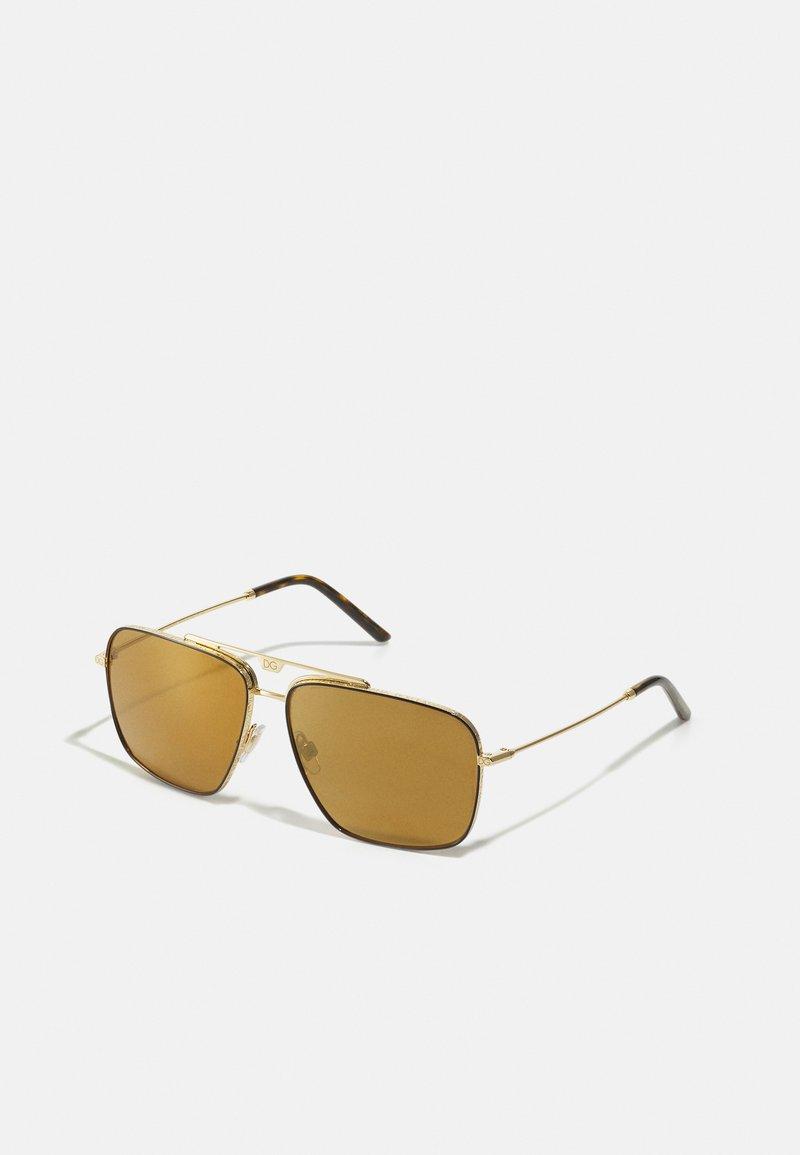 Dolce&Gabbana - Sunglasses - gold-coloured/brown