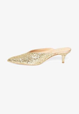 AMINA - Classic heels - gold