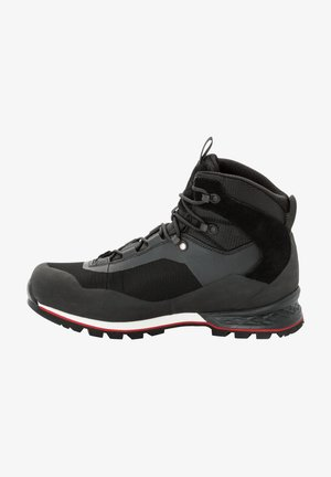 WILDERNESS LITE TEXAPORE MID M - Hiking shoes - black, red