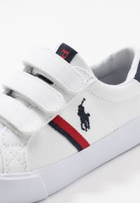 Polo Ralph Lauren - GAFFNEY - Trainers - white/red/navy - 2
