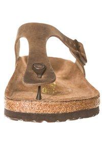 Birkenstock - GIZEH - T-bar sandals - tabakbraun - 3