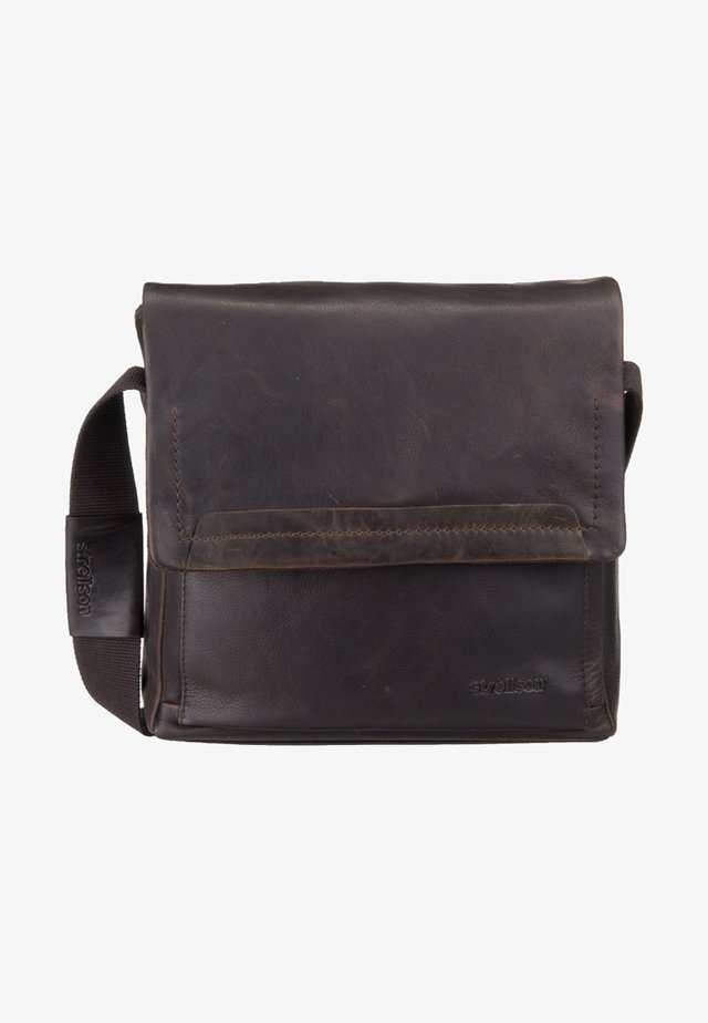 CAMDEN - Across body bag - dark brown