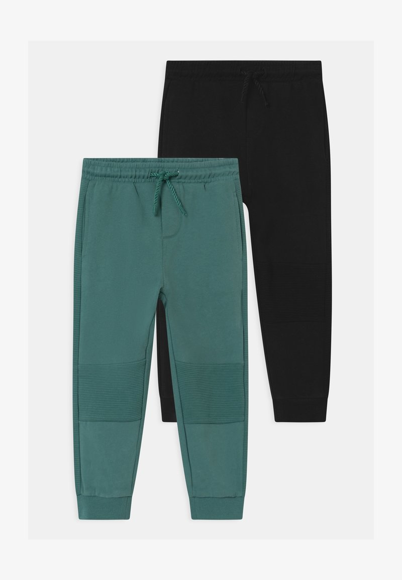 OVS - 2 PACK - Broek - granite green/black bean