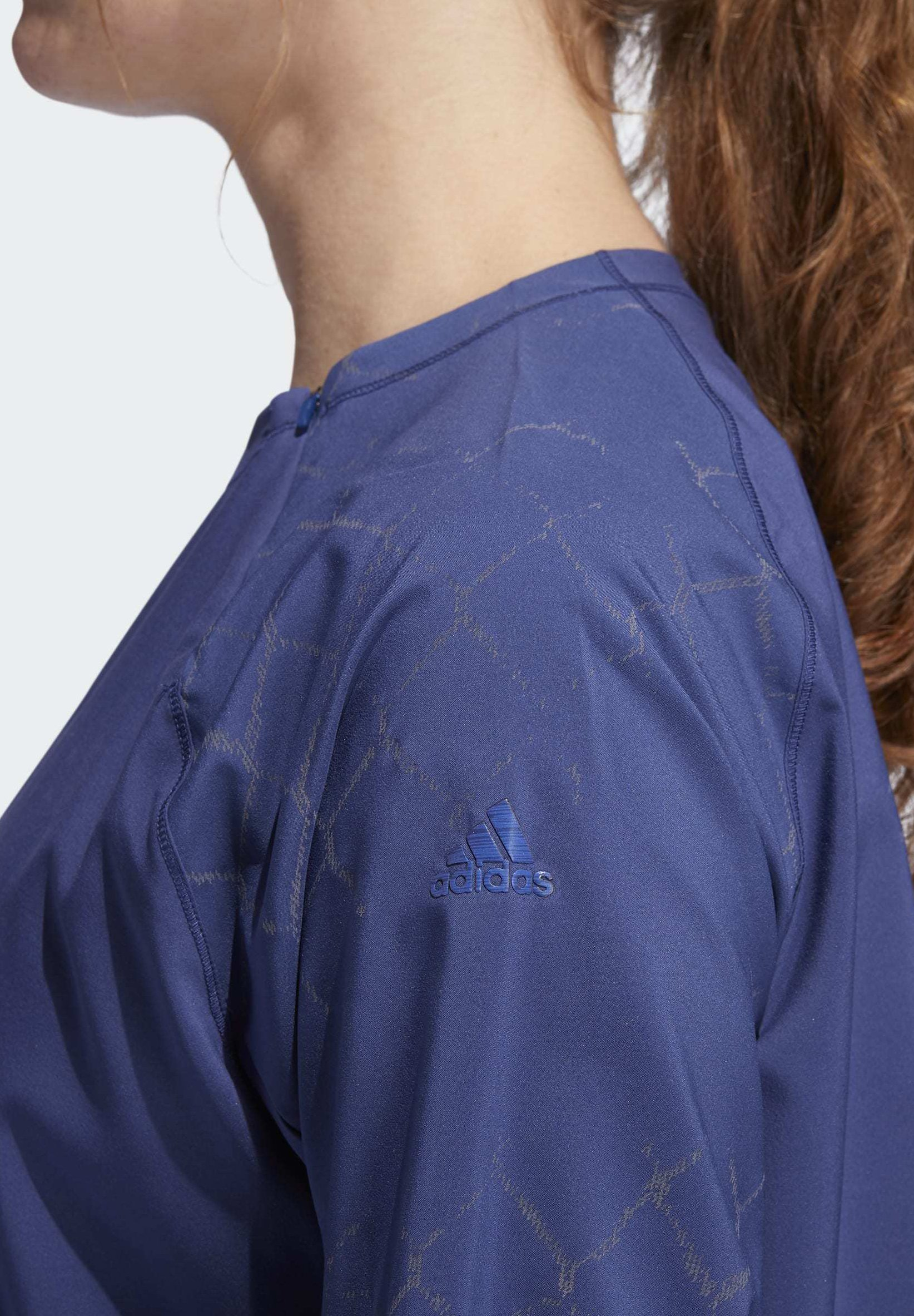 adidas Performance ADAPT TO CHAOS JACKET - Long sleeved top - blue r6mkt