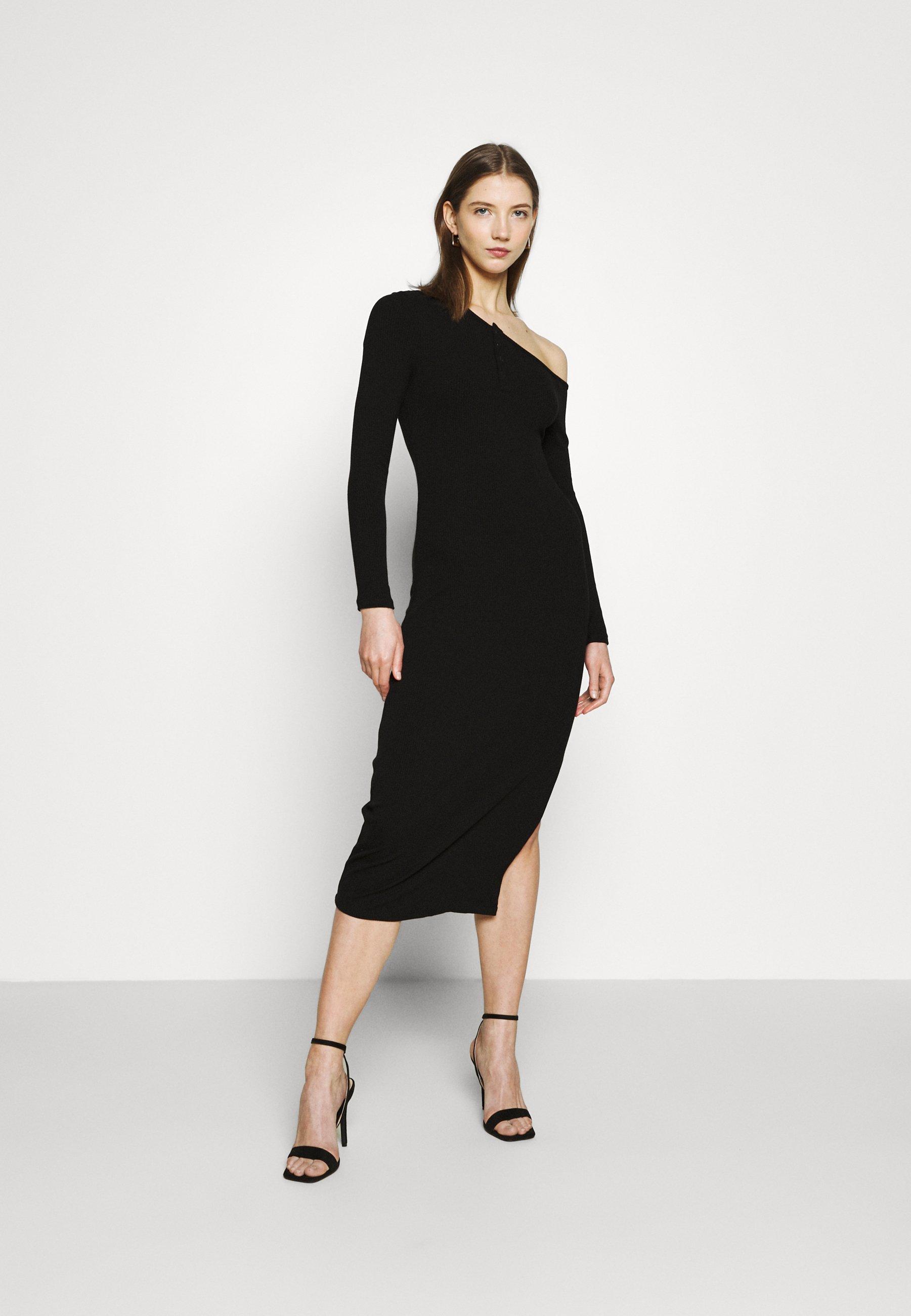Women TIPPED MIDI DRESS - Jumper dress