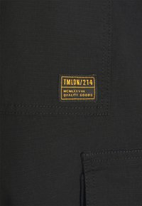 Topman - WEBBING - Cargo trousers - black - 7