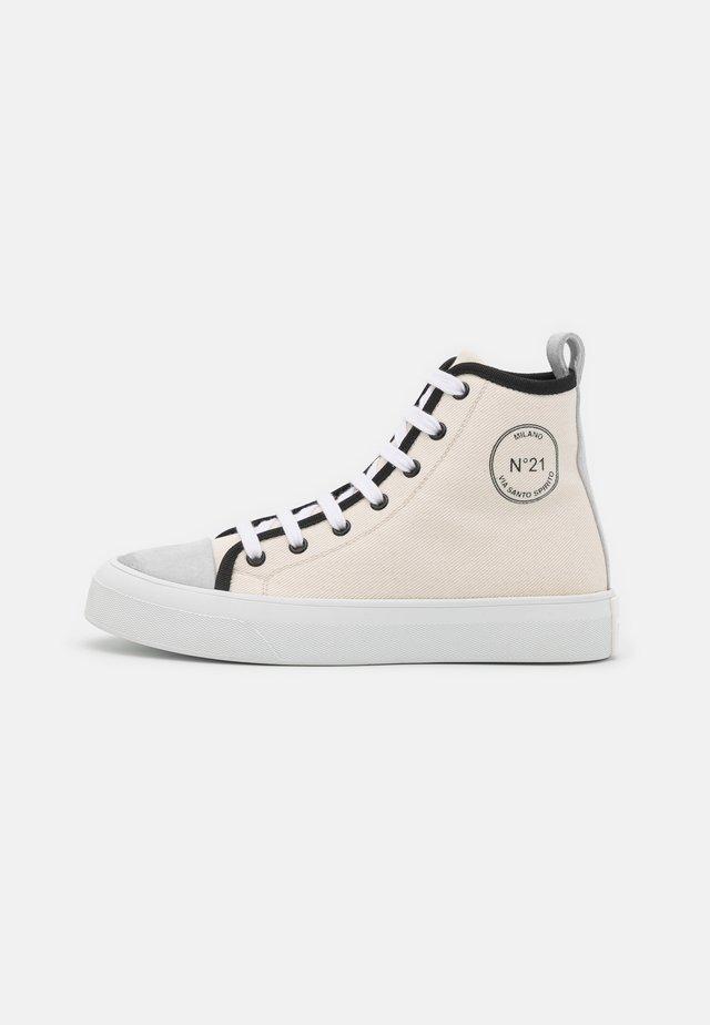 TOP - Sneakersy wysokie - white