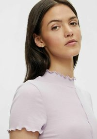 Pieces - Basic T-shirt - orchid bloom - 3