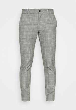 ONSMARK PANT CHECK - Spodnie materiałowe - marina
