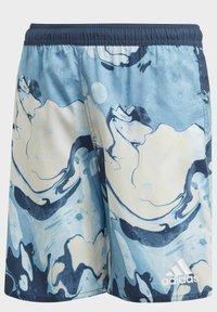 adidas Performance - WAVEBEAT - Swimming shorts - blue - 5