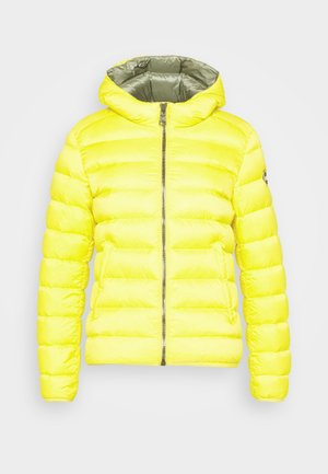 LADIES JACKET - Down jacket - pineapple/dark steel
