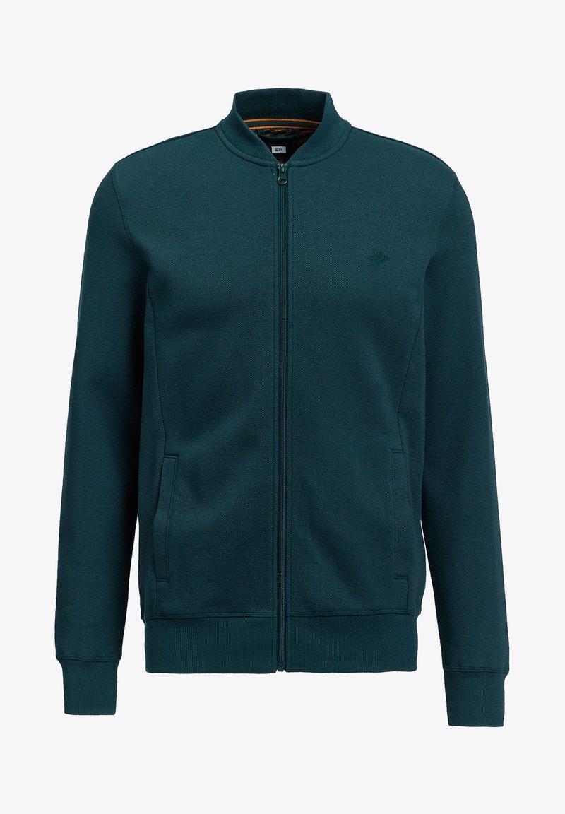 WE Fashion Sweatjacke - greyish blue/blaugrau RMYW2Z