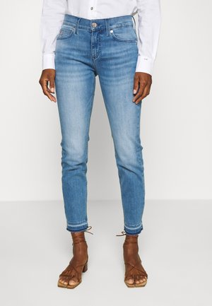 MID RISE SLIM ANKLE - Slim fit jeans - blue denim