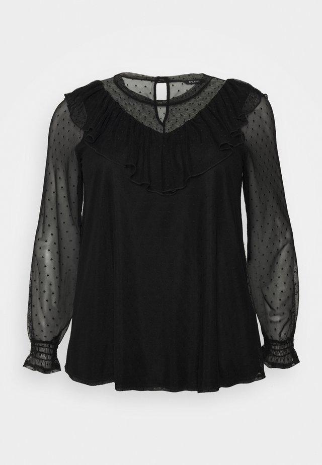SPOT - Camicetta - black