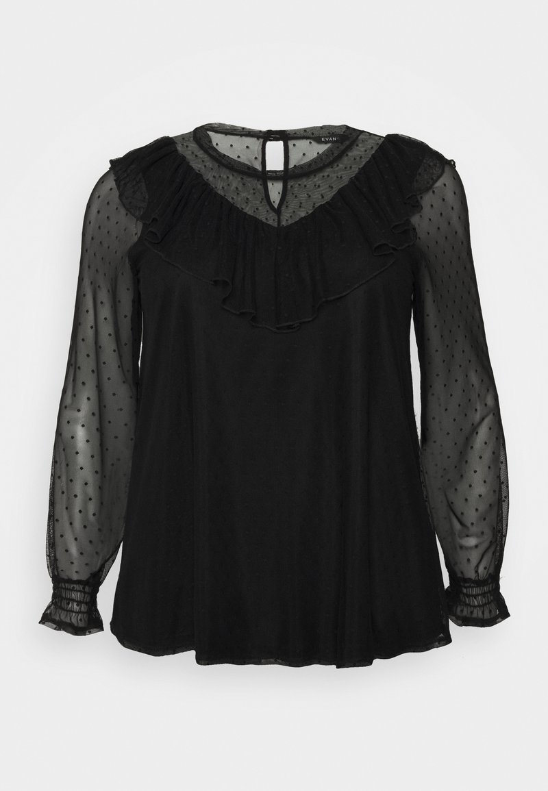 Evans - SPOT - Blouse - black