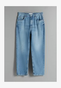 Bershka - TAPERED - Relaxed fit jeans - blue denim - 4
