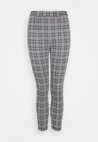 Leggings - Trousers - black  white