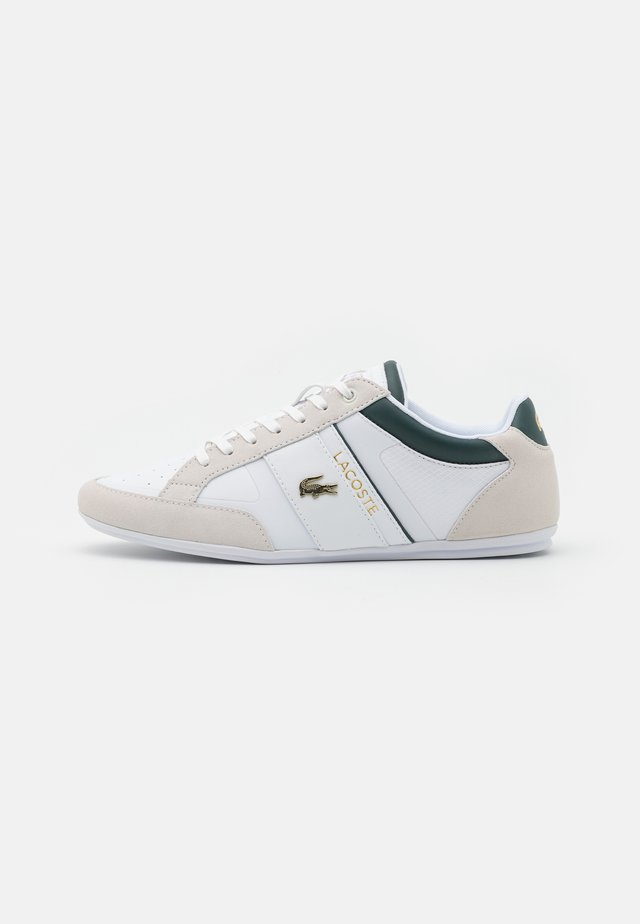 CHAYMON - Trainers - white/dark green