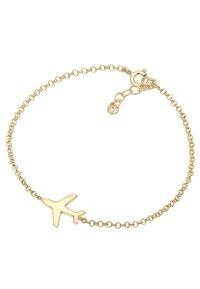 Elli - FLUGZEUG - Bracelet - gold-coloured - 3