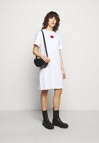 HUGO - NEYLETE REDLABEL - Jersey dress - white - 1