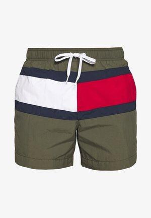 MEDIUM DRAWSTRING - Swimming shorts - khaki