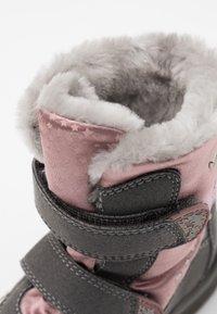 Lurchi - KIMA SYMPATEX - Zimní obuv - grey/pink - 5