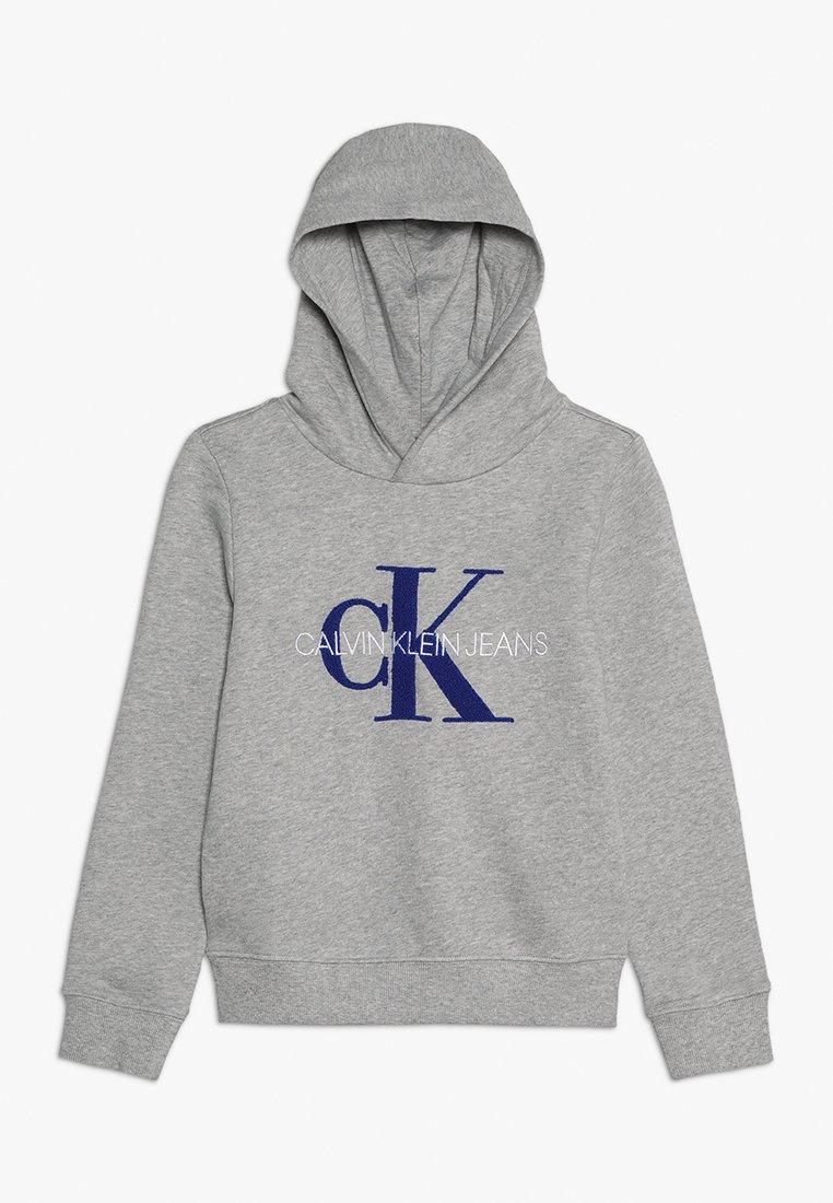 Calvin Klein Jeans - MONOGRAM HOODIE - Mikina skapucí - grey