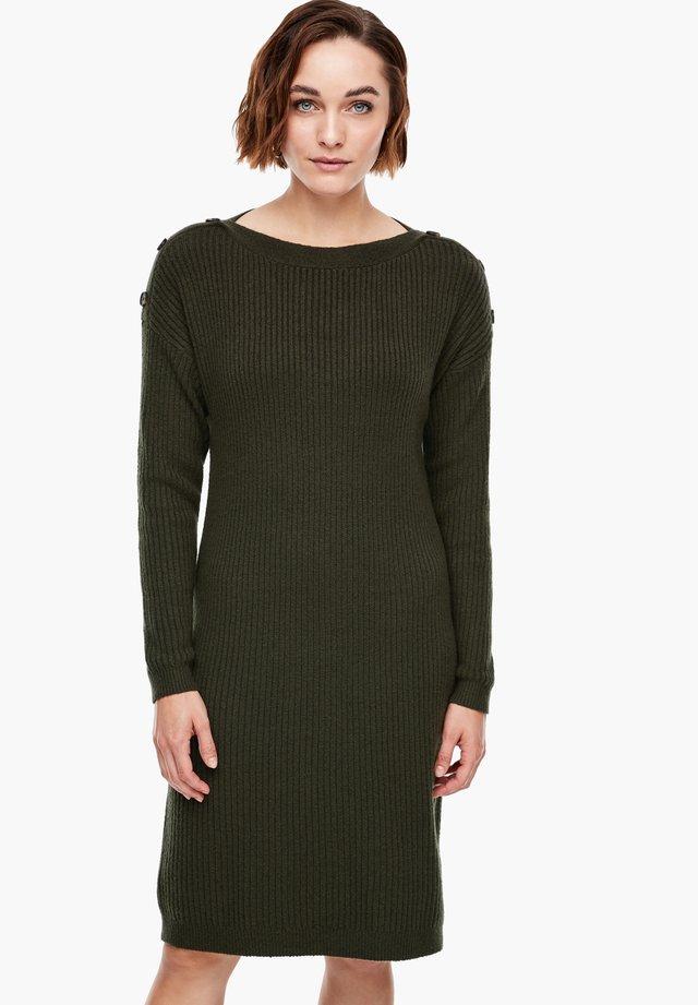 Jumper dress - khaki
