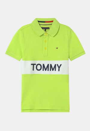 BLOCKING  - Polo shirt - sour lime