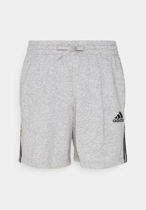 Pantalón corto de deporte - medium grey heather/black