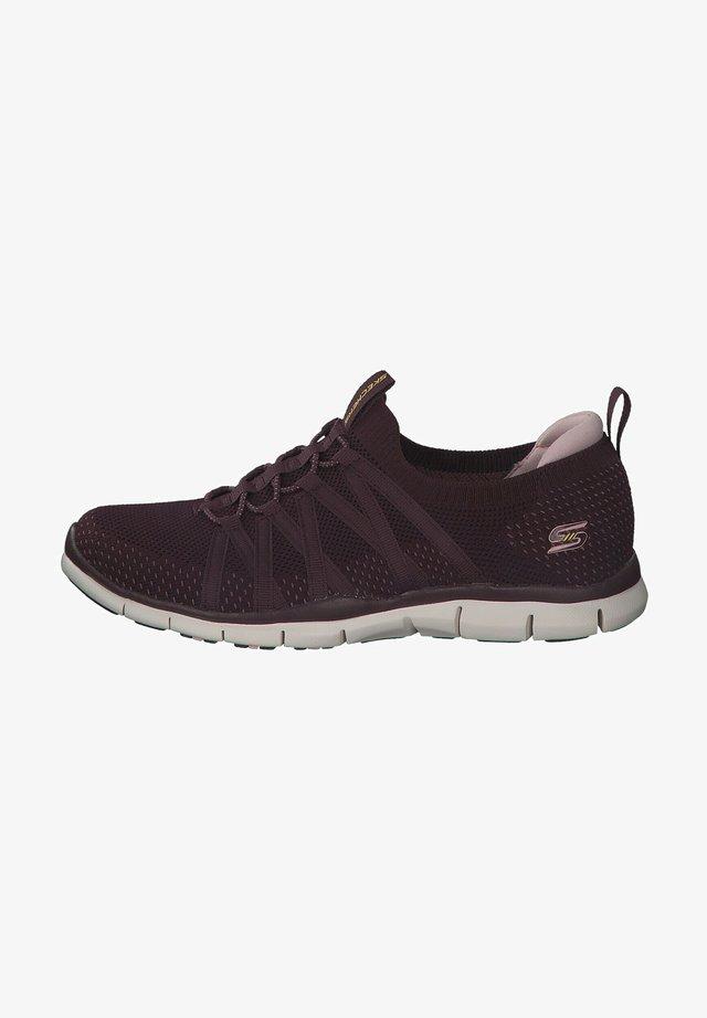Stabilty running shoes - plum violett