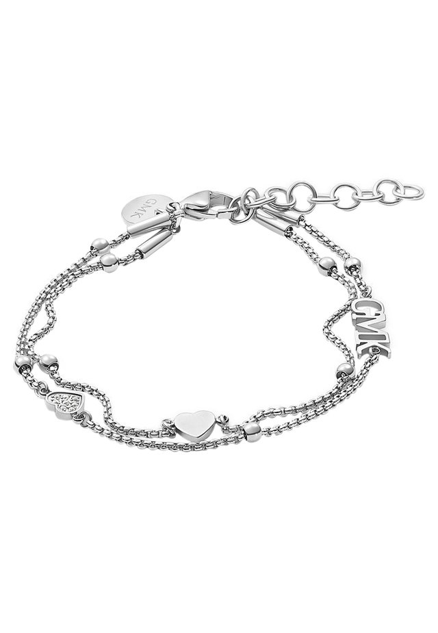 GMK COLLECTION DAMEN-ARMBAND VALENTINE COLLECTION EDELSTAHL 8 ZI - Armband - silber